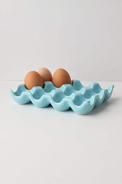 Anthropology Ceramic Farmers Egg Crate