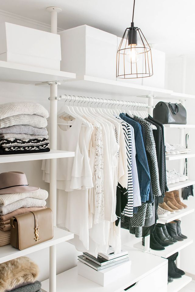 5 Tips For Organizing A Walk In Closet